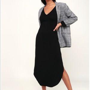 Black tee shirt dress
